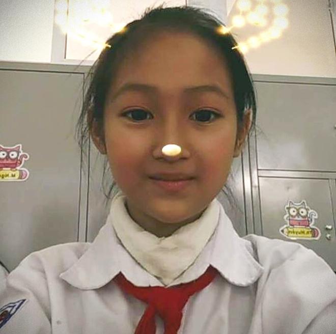 Bé Vân Nhi đã hiến tặng giác mạc khi qua đời ở tuổi 12. Ảnh: Gia đình cung cấp.