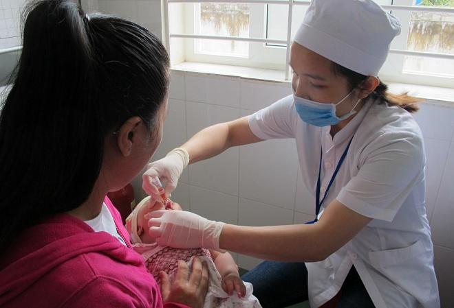 Trạm y tế hiện nay chủ yếu thực hiện chức năng tiêm chủng. Ảnh chụp một trạm y tế tại Đắk Lắk: N.P.