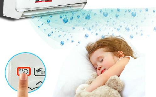 Dùng máy lạnh sai cách dễ khiến trẻ nhỏ nhiễm bệnh
