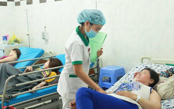 Các bệnh nhân hiện hồi phục sức khỏe. Ảnh: H.M