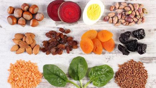 Những loại thực phẩm giàu sắt tốt nhất cho cơ thể. Ảnh: Shutterstock.