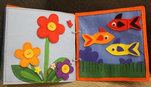 Sách vải - Đồ chơi giúp bé phát triển trí thông minh