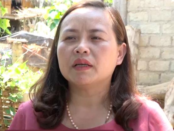 Bà Nguyễn Thị Thanh Hoa.