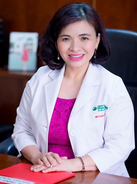 Bác sĩ chuyên khoa 2 Đỗ Thị Ngọc Diệp, Giám đốc Trung tâm Dinh dưỡng TP HCM.