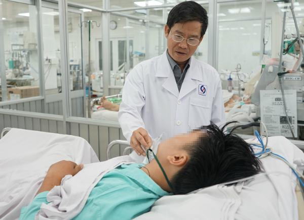Bệnh nhân hiện hồi phục sức khoẻ tốt. Ảnh: H.H