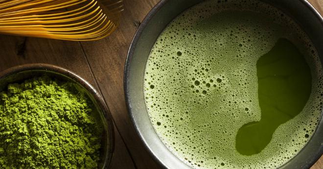 Bột trà xanh với nhiều công dụng, được tận dụng làm nhiều món ăn ở Nhật.