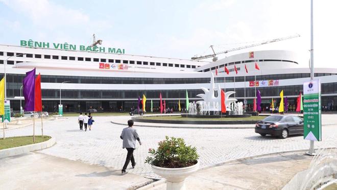 Bệnh viện Bạch Mai 2 tại Hà Nam. Ảnh: Lê Nga.