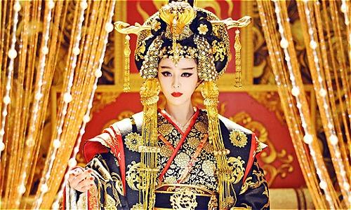 Nhân vật Võ Tắc Thiên do diễn viên Phạm Băng Băng thể hiện. Ảnh: Factinate.