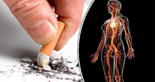 Cai thuốc lá mang lại nhiều lợi ích sức khỏe cho cơ thể. Ảnh: DE