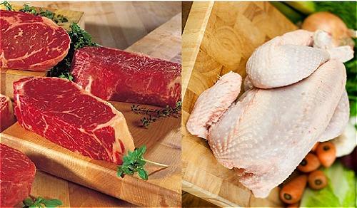 Thịt trắng hay thị đỏ có lợi cho sức khỏe.