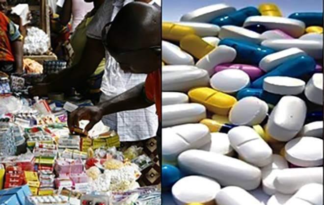 Thuốc được cho là làm từ nhau thai, phát hiện tại Nigeria. Ảnh: Gistreel.
