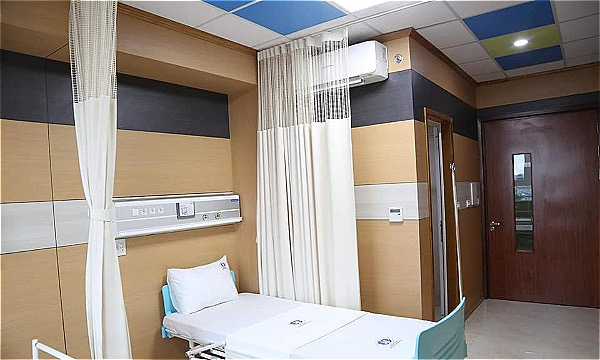 Mô hình bệnh viện khách sạn, đảm bảo các yếu tố sáng-xanh-sạch-đẹp. Ảnh: L.N
