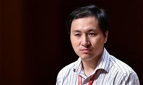 Ông Hetrong lần xuất hiện trước công chúngở Hội nghị Quốc tế về chỉnh sửa gene ở Hong Kong. Ảnh: SCMP