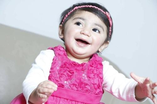 Bé Zainab mang trong mình nhóm máu hiếm hàng đầu thế giới. Ảnh: WP.