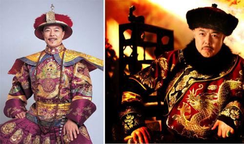 Vua Càn Long trong phim truyền hình Trung Quốc do diễnviên Trương Thiết Lâm đóng.