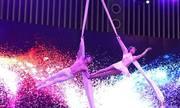 Nghệ sĩ xiếc khổ luyện để đu dây nhào lộn trên không