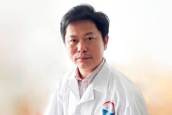 Bác sĩ Lê Văn Lâm. Ảnh: Hoàng Táo.