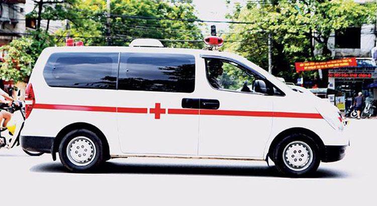 Nạn nhân bị xe tải đâm ở Hải Dương nhập viện trong hoảng loạn