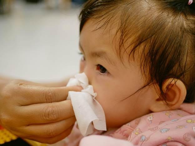 Xịt mũi chứa chiết xuất Carragenan rút ngắn thời gian và giảm nhẹ triệu chứng cảm lạnh cho bé.