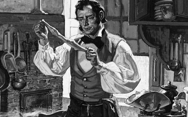 Goodyear, người phát minh ra bao cao su bằng cao su tự nhiên. Ảnh: Esquire