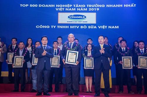 Công ty con của Vinamilk vào top doanh nghiệp tăng trưởng nhanh nhất Việt Nam - ảnh 1