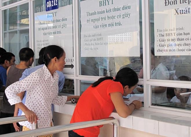 Điều chỉnh giá dịch vụ KCB chỉ tác động đến các đối tượng chưa tham gia bảo hiểm. Ảnh: Minh Minh.