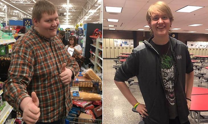 Chàng trai giảm gần 70 kg nhờ đi bộ đến trường mỗi ngày - Sức Khỏe