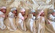Ca sinh 6 đầu tiên ở Ba Lan