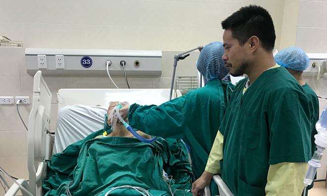 Tình trạng sức khỏe của chị Liên xấu điẢnh: Hà Trần.