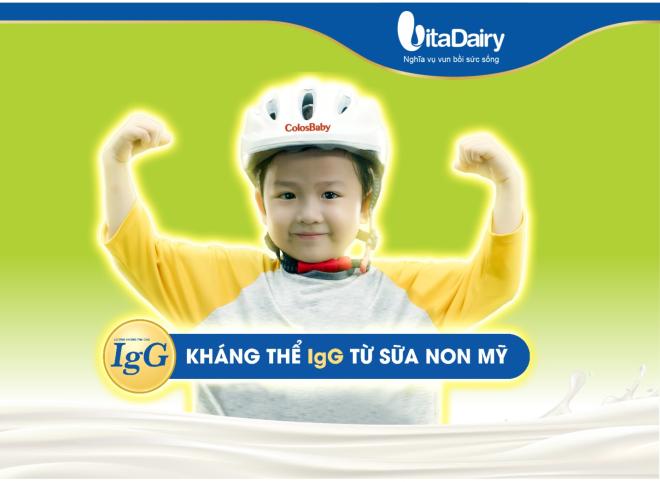 Vai trò kháng thể IgG với hệ miễn dịch của trẻ - ảnh 1