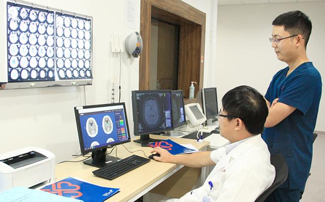 Bệnh viện TP HCM ứng dụng trí tuệ nhân tạo chữa đột quỵ - ảnh 1