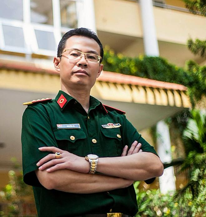 Đại tá, bác sĩ Nguyễn Lê, bệnh viện Quân Y 103 đồng thời là giảng viên tại Học viên Quân Y chuyên ngành gan mật. Ảnh: Nhân vật cung cấp