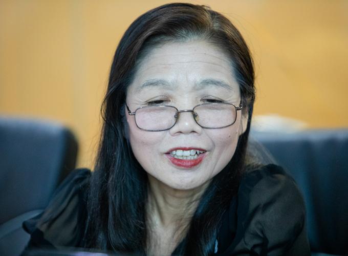 Phó giáo sư, tiến sĩ Lê Bạch Mai. Ảnh: Thành Nguyễn.