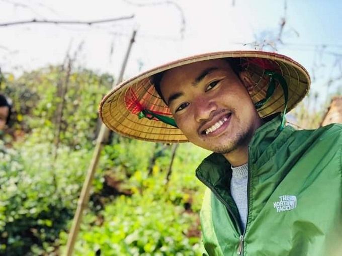 Nguyễn Công Nội sinh năm 1992, bị bệnh ung thư đại tràng giai đoạn cuối từ năm 2016.