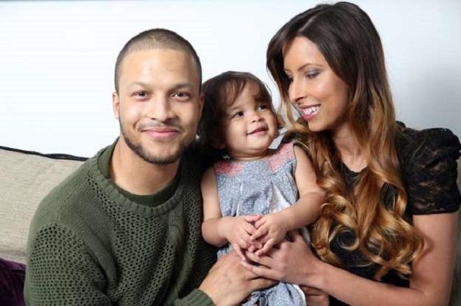 Tình yêu của vợ và con gái là động lực giúp Joe Thompson vững tin điều trị bệnh.