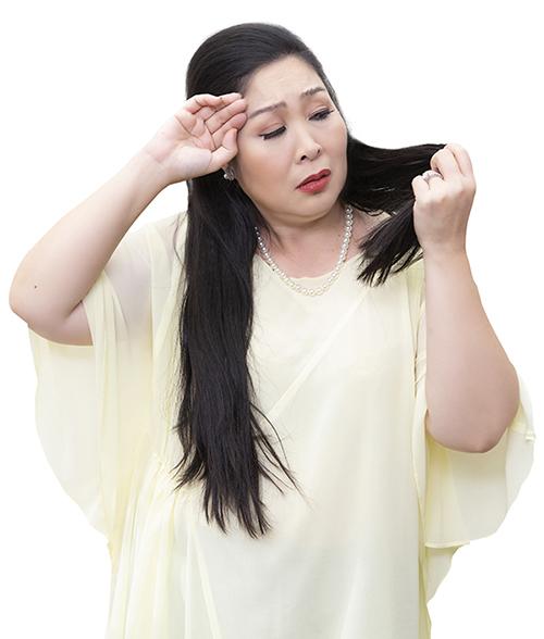 Bí quyết ngăn rụng tóc của Hồng Vân, Lan Hương - ảnh 1
