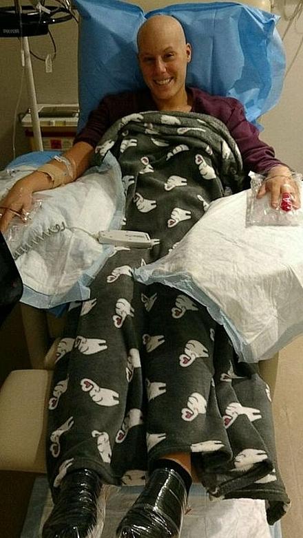 Hành trình hạnh phúc của cô gái ung thư vú - ảnh 1