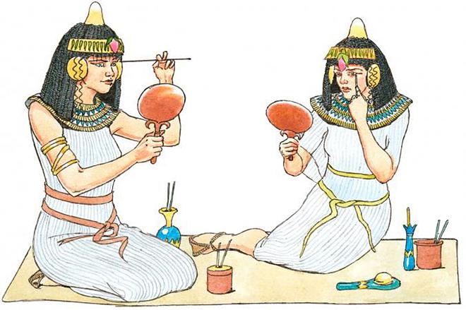 Làm đẹp theo kiểu Ai Cập cổ - ảnh 1