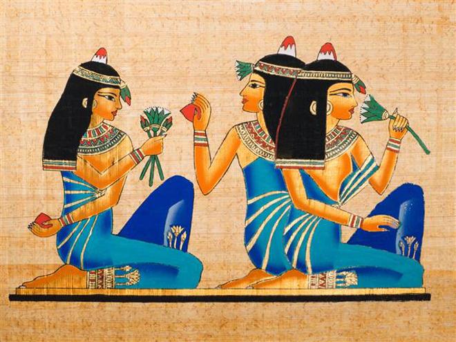 Làm đẹp theo kiểu Ai Cập cổ - ảnh 2