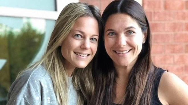 Erin Silverman (trái)vàRandi Fishman (phải). Ảnh:Erin Silverman