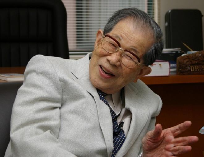 Bác sĩ Shigeaki Hinohara (Ảnh: Rapt-neo)