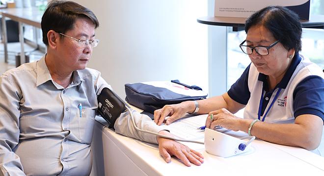 Hàng chục nghìn người được sàng lọc huyết áp - ảnh 1