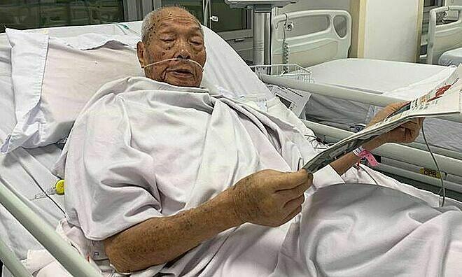 Thay khớp háng cho cụ ông 93 tuổi - Sức Khỏe