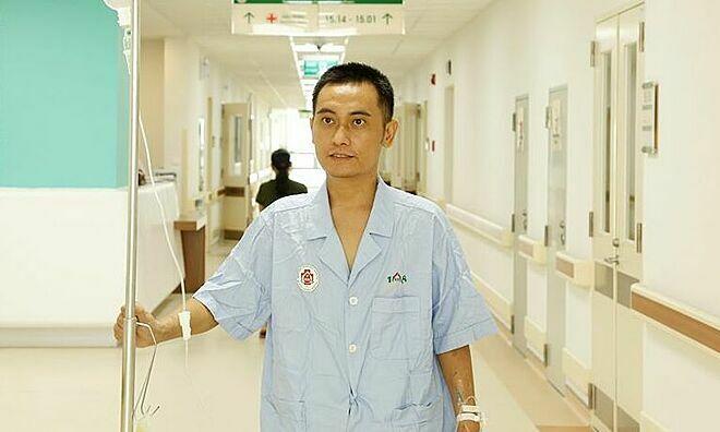 Bệnh nhân ổn định sức khỏe sau ghép gan. Ảnh: Lan Hương,