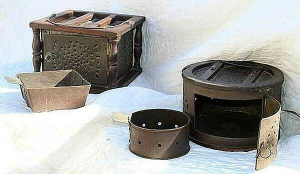 Chiếc lò sưởi chân chống lạnh đầu thế kỷ 17 - ảnh 3