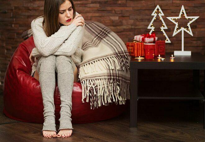 Nhiều người cảm thấy cô đơn trong các dịp nghỉ lễ. Ảnh:The UnLonely Project