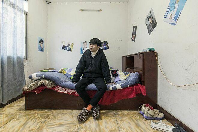 ZhangHaitao từng là một thiếu niên yêu bóng rổ trước khi được chẩn đoán ung thư. Ảnh:Bloomberg