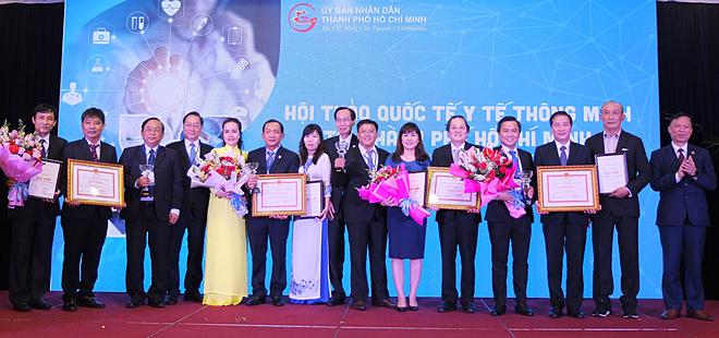 TP HCM vinh danh 20 sản phẩm y tế thông minh - ảnh 1