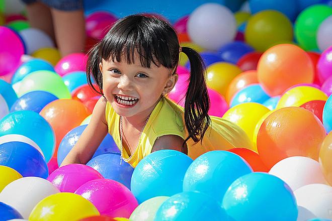 Trẻ nhỏ cần tăng cường bổ sung dinh dưỡng và vận động để cải thiện chiều cao. Ảnh: Thành Nguyễn