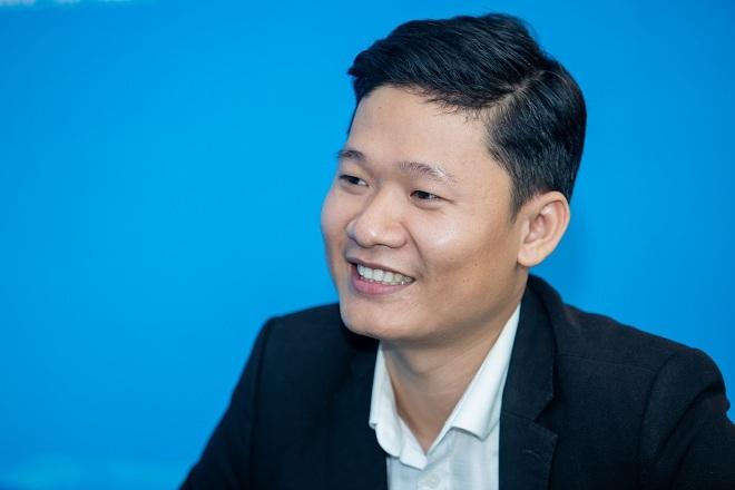 Ông Lê Đức Phú - Chủ tịch Hiệp hội Doanh nghiệp Nước ion kiềm Việt Nam. Ảnh: Thành Nguyễn.